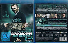 UNKNOWN IDENTITY --- Blu-ray --- Liam Neeson --- Diane Kruger ---