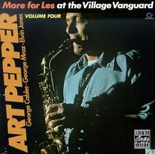 More For Les-At The Village - Art Pepper (1992, CD NUEVO)