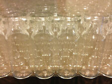 Mini Clear Glass Miniature bottles - 3 ML / CC -  VIALS -  280 Vials. BULK LOT