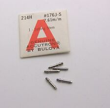 Lot of 5 NOS Accutron 214 Part # 176J-S 1 Ring on Hub 7.61mm Fly Back Style Stem