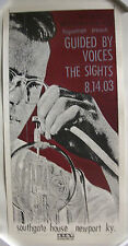 GUIDED BY VOICES / THE SIGHTS - RARE 2003 TOUR POSTER - PRINT MAFIA