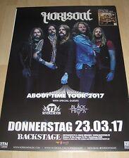 Horisont TOUR MANIFESTO/POSTER TOUR 2017-Nuovo-Backstage Monaco