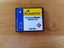 Promaster Compact Flash Memory Card 2 Gb Cf