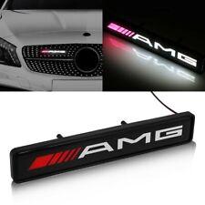 AMG MERCEDES Front Grille Badge Led Light Luminous Universal A CLASS C CLASS