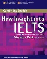 New Insight Into Ielts Student's Book With Answers (insights): By Vanessa Jak...
