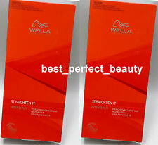 Wella Wellastrate Hair Care Straight System Intense Hair Cream 2 set F Shipping