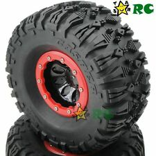4pcs RC 2.2 Beadlock Wheels & AR Casper 135mm Crawler Tires For 1/10 RC Crawler