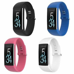 Polar A360 Activity Tracker Fitness Watch Wrist Heart Rate Monitor - Size Medium