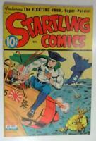 STARTLING COMICS #30 NEDOR NOV 1944 FIGHTING YANK PYROMAN CAPTAIN FUTURE F/VF