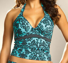 FANTASIE Women's Milan Underwire Swimwear Tankini Top 5225 Blz 36D NEW $95