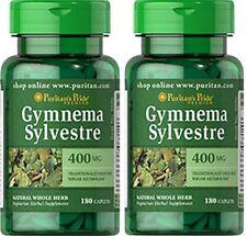 2X Gymnema Sylvestre 400 mg x  180 ( 260 ) Caplets Weight Loss - 24HR DISPATCH