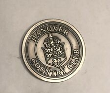 Hanover Country Club Golf Ball Marker