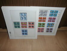 Sammlung CH Schweiz VIERERBLOCKS gestempelt PRO PATRIA 1962-1995 komplett (52084