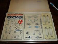 DDR Baukastensystem VEB POLYTRONIC Grundausstattung Elektrotechnik / Elektonik A