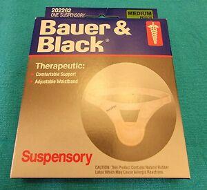 Bauer & Black  Scrotal Support Suspensory--Medium