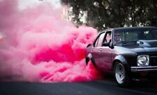 HIGHWAY MAX 215/60R16 **PINK SMOKE** COLORED BURNOUT TYRE, GENDER REVEAL