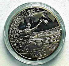Collection coin Ukraine 5 hryvnia UEFA EURO 2012 Football