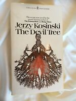 Jerzy Kosinski The Devil Tree Vtg 1973 Paperback Hippie Communes Nepal Burma