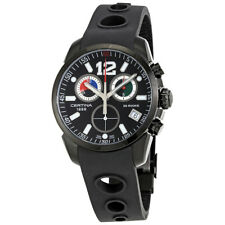 Certina DS Rookie Black Dial Mens Chronograph Rubber Watch C016.417.17.057.01