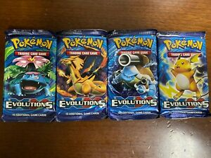 Pokemon XY Evolutions Booster Pack Factory Sealed Brand NEW Fast Shipping!