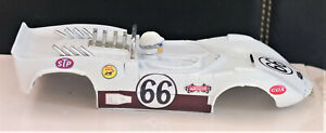 Vintage STROMBECKER 1/32 Slot Car BODY #66 Chaparral 2c