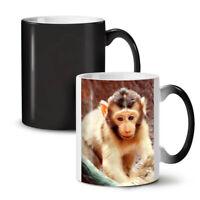 Monkey Photo Animal NEW Colour Changing Tea Coffee Mug 11 oz | Wellcoda