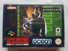 SNES Syndicate CIB VERY NICE Condition!