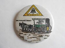 Cool Vintage Telephone Pioneers of America Horse Drawn Cart Spirit Pinback