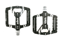 SMS Aluminum MTB Road Bike Pedals Sealed Bearing Widen Pedals Platform 9/16in