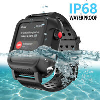 IP68 Waterproof Case F Apple Watch Series 3 38mm iWatch Shockproof Watch Band