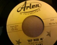 "The Tams Deep inside me arlen 717   Northern  soul   7"" 45 rpm"