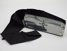 Bandeau cosplay NARUTO Shippuden Sigle Neuf plaque métal bande noir
