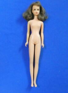Vintage Barbie Francie  Doll - Vintage Brunette Bend Leg Francie Doll