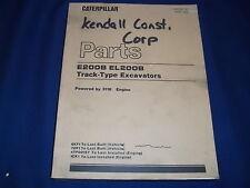 CAT CATERPILLAR E200B EL200B EXCAVATOR PARTS BOOK MANUAL S/N 6KF1-UP 7DF1-UP