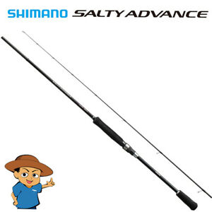 Shimano SALTY ADVANCE EGING S86ML Medium Light spinning fishing rod 2019 model