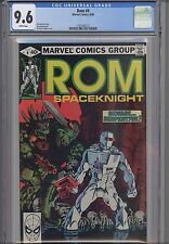 Rom: The Space Knight #9  CGC 9.6 Marvel 1980 Before Transformers NEW CGC FRAME