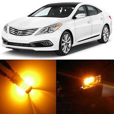 Alla Lighting Rear Turn Signal Light Amber LED Bulbs for 2006~2016 Hyundai Azera