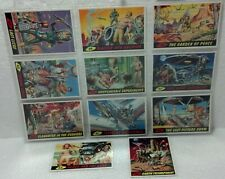 """1994 Mars Attacks 11 card UNPUBLISHED SET + """"0"""" card #56-66 NM/VG w/pro ultra"""