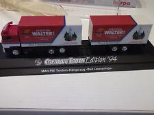 "Herpa 173889 MAN F90 ""Sp.Walter-Bad Lippspringe""Creative Truck Edition 1994 1:87"