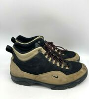 Nike ACG Mens Hiking Trail Ankle Boots Shoes Brown Size 11.5 EU 45.5