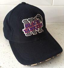 4d3e37606a0 NEW YORK Black YANKEES Size M L Baseball Hat - NLB Cap