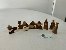 Polymer/Wood Cutout Nativity Scene from ARGENTINA -PROFIT DONATED- [193A]