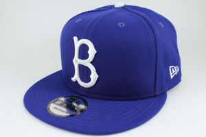 NEW ERA 9FIFTY BASIC SNAPBACK HAT CAP MLB BROOKLYN DODGERS BLUE NEW ADULT MEN