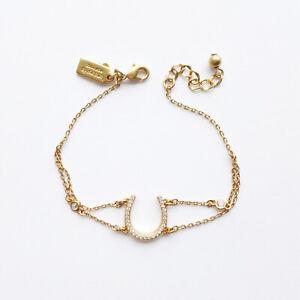 Kate spade New York wild ones pave horseshoe bracelet