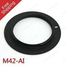M42 Obiettivo Per Nikon AI Mount Adapter d7100 d7200 d750 d810 d610 d3300 UK Venditore