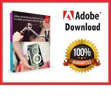 Adobe Photoshop Elements 12  & Premiere Elements 12 ✔ Windows & MAC ✔ 64/32BIT