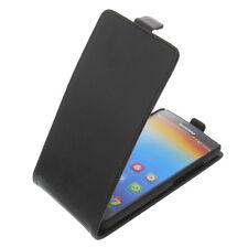 Funda para Lenovo A616 Smartphone Estilo Flip Protectora Cubierta Carcasa Negro