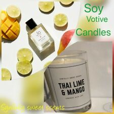 2 Soy Thai Lime & Mango Scented Candles Jo Malone Loves Dupes