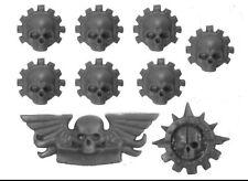 Mechanicus Sellos/crestas Warhammer 40k bits: Imperial Caballero alcalde