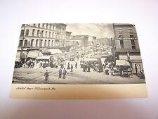 Market Day Williamsport PA 1909 Post Card